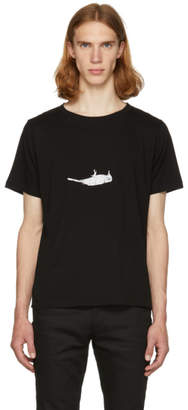 Saint Laurent Black Bird T-Shirt