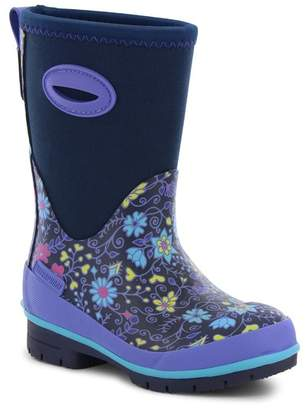 Western Chief Floral Fun Neoprene Waterproof Boot (Toddler, Little Kid, & Big Kid)