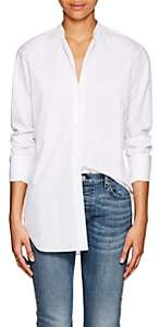 Nili Lotan Women's Faye Cotton Poplin Blouse - White