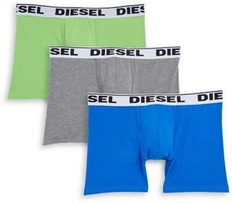 Diesel UMBX Sebastian 3-Pack Boxer Briefs