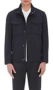 Theory Men's Tech-Fabric Field Jacket - Navy