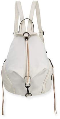 Rebecca Minkoff Julian Vertical-Zip Nylon Backpack