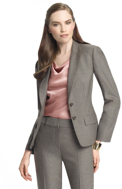 Anne Klein Herringbone Jacket