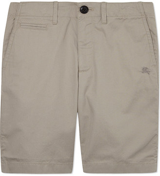 Burberry Tristen cotton shorts 4-14 years $84 thestylecure.com