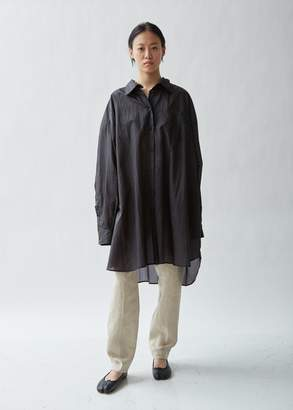 Maison Margiela Button Front Shirt Dress