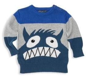 Andy & Evan Baby Boy's Colorblock Graphic Sweater
