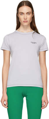 Acne Studios Purple Tight Logo T-Shirt
