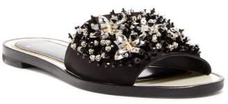 Lanvin Embellished Slide Sandal