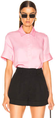 Jil Sander Giuditta Top in Bright Pink | FWRD