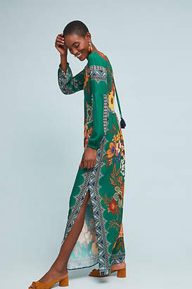 Anthropologie Farm Rio for Farm Rio Verdor Maxi Dress