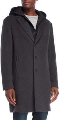 Vince Heather Grey Storm Coat