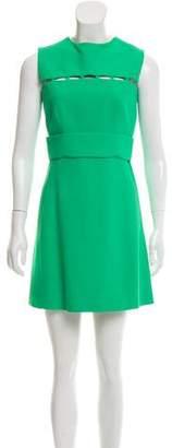 Emilio Pucci Cutout-Accented Mini Dress