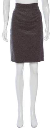 Les Copains Wool & Cashmere Skirt
