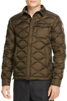 Moncler Nambour Solid Quilted Down Jacket $990 thestylecure.com