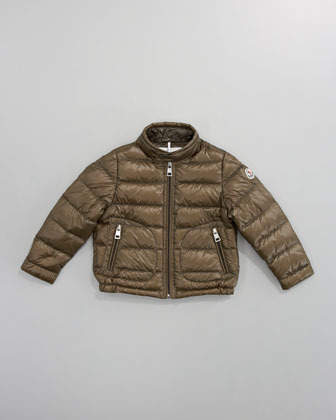 Moncler Acorus Packable Jacket, Sizes 4-6