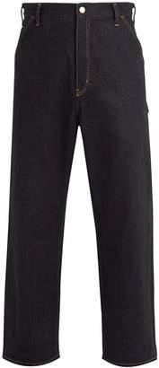 Junya Watanabe X Carhartt wide-leg denim jeans