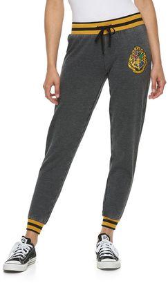 Juniors' Harry Potter Hogwarts Crest Graphic Jogger Pants $30 thestylecure.com