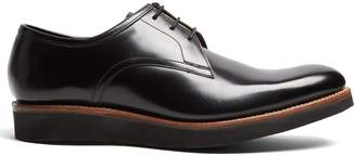 Grenson Lennie leather derby shoes