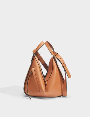 17202313df3c Loewe Hammock Small Bag in Tan Calfskin
