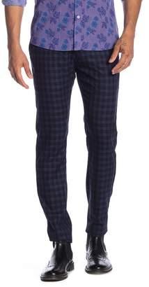 "TR Premium Comfort Fit Stretch Patterned Pants - 32-34\"" Inseam"