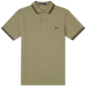 Fred Perry Authentic Slim Fit Twin Tipped Polo