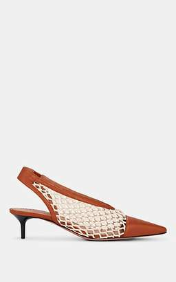 Altuzarra Women's Peppino Leather Slingback Pumps - Lt. brown