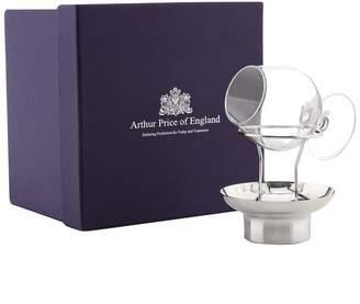 Arthur Price Of England Brandy Warmer and Glass