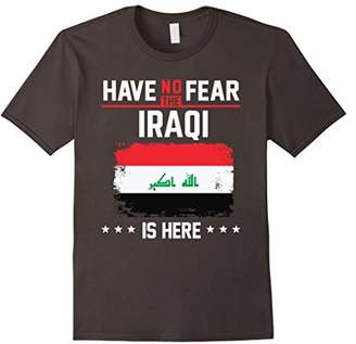 No Fear Iraq Flag T-Shirt Iraqi Have Vintage Shirt
