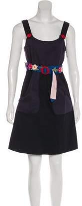Sonia Rykiel Sonia by Sleeveless Mini Dress