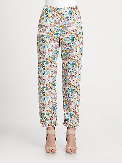 Cacharel Butterfly Print Pants