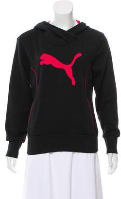Puma Embroidered Hooded Sweatshirt