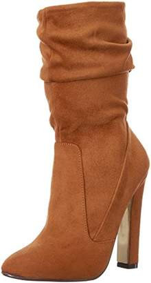 Luichiny Women's Cha Ching Ankle Bootie