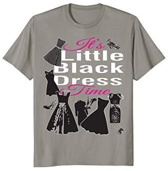 Women Little Dress with Shoes Purse T-shirt