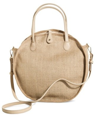 Who What Wear Women's Weave Circle Bag - Who What Wear $24.99 thestylecure.com
