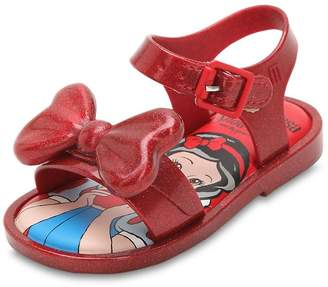 Mini Melissa Snow White Rubber Sandals