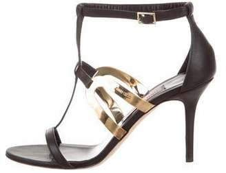 Jimmy Choo T-Strap Cage Sandals