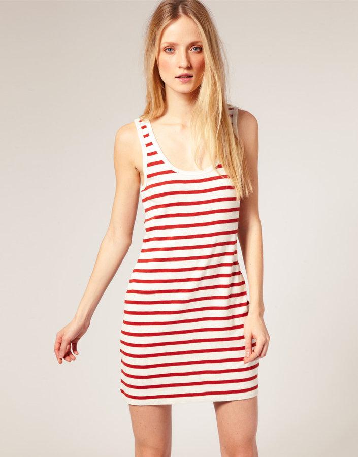 French Connection Stripe Tank Dress