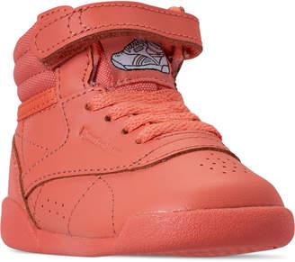 dc75247958333 Reebok Girls  Toddler Freestyle Hi Casual Shoes