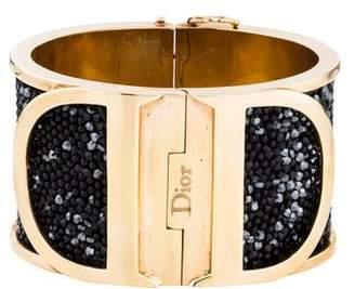 Christian Dior Crystal Hinged Bracelet