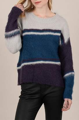 Molly Bracken Banded Sweater