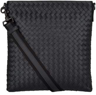 Bottega Veneta Leather Intrecciato Cross Body Bag