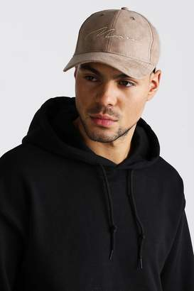 boohoo 6 Panel Cap With MAN Embroidery