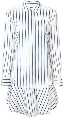 Derek Lam 10 Crosby Long Sleeve Button-Down Shirtdress