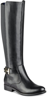 Tommy Hilfiger Suprem Riding Boots $159 thestylecure.com