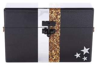 Edie Parker 2015 Stars & Stripes Mini Trunk Bag