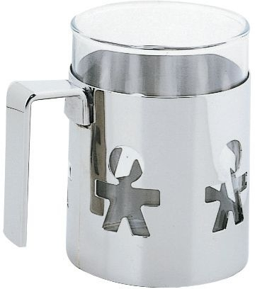 Alessi Girotondo, Mug with heat resistant glass