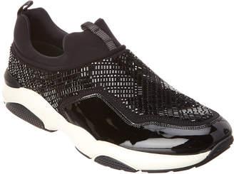 Salvatore Ferragamo Giolly Ng Patent Slip-On Sneaker