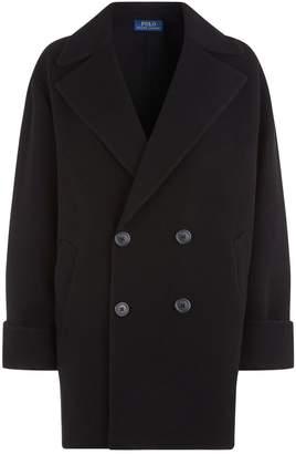 Polo Ralph Lauren Wool Double Faced Coat