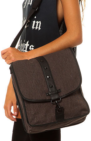 Vans The Proclaim Large Crossbody Convertible Backpack in Sepia