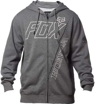 Fox Racing FoxPrint Mens Honda Fleece Hoody Zip Sweatshirt